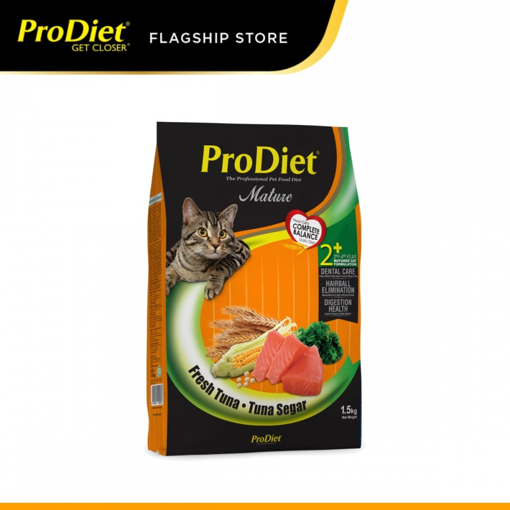 ProDiet 1.5KG Fresh Tuna Dry Cat Food