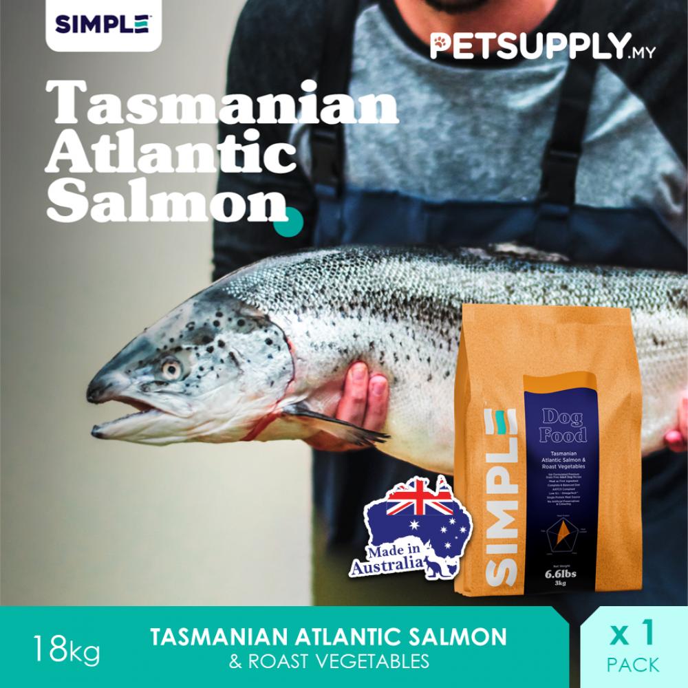 SIMPLE Tasmanian Atlantic Salmon & Roast Vegetables 18KG
