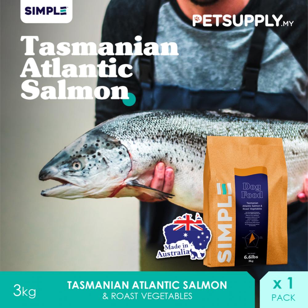 SIMPLE Tasmanian Atlantic Salmon & Roast Vegetables 3KG