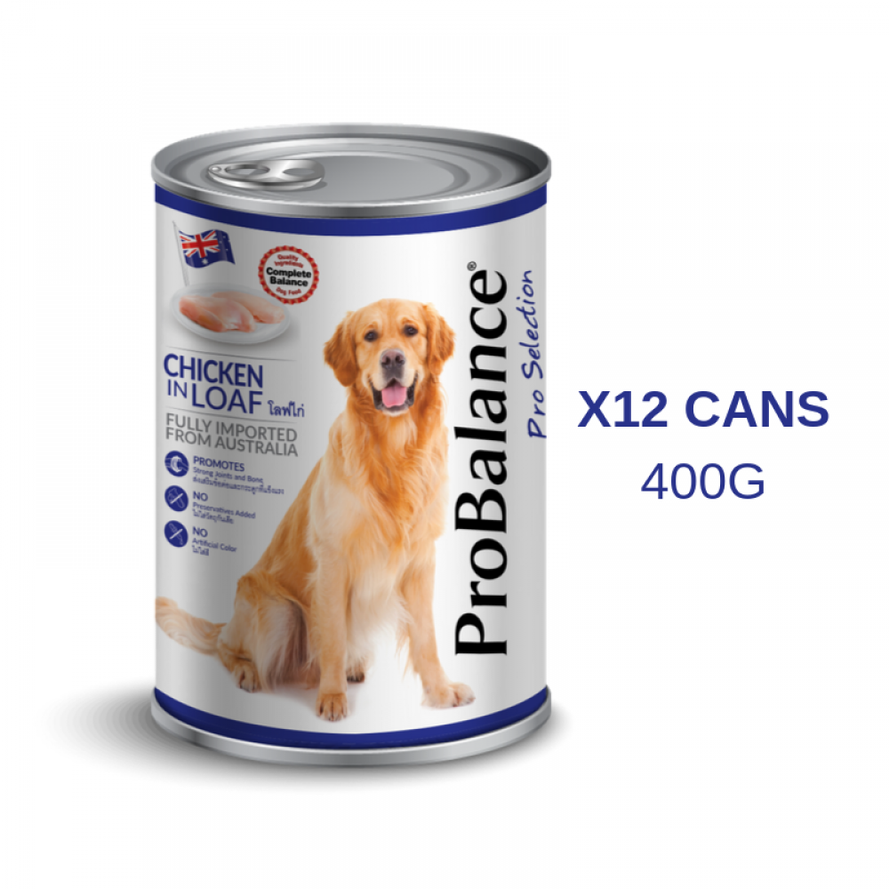 ProBalance 400G Pro Selection Adult Chicken X 12 Cans