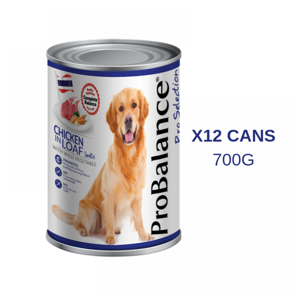 ProBalance 700G Chicken Loaf X 12 Cans