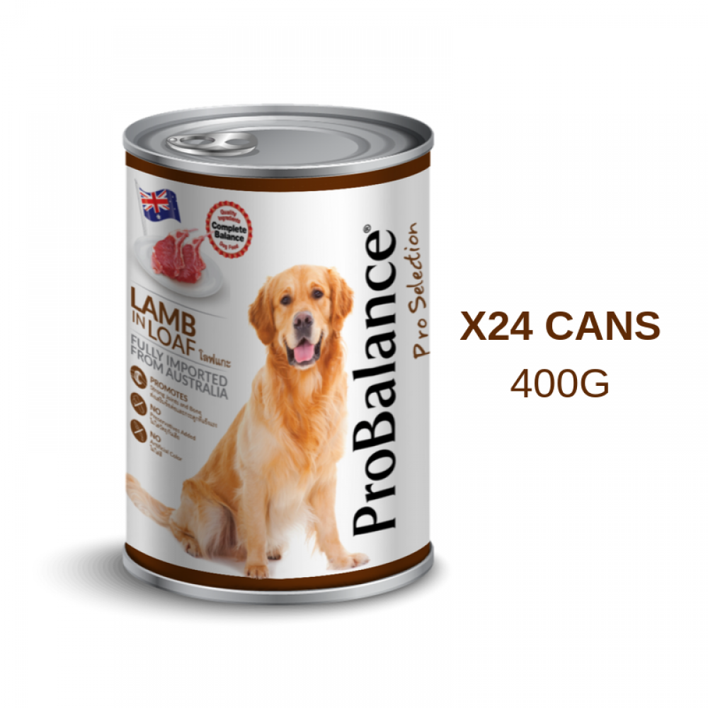 ProBalance 400G Pro Selection Adult Lamb X 24 Cans