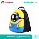 DESPICABLE ME MINION Pets Carrier Backpack