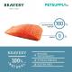 BRAVERY Large/ Medium Adult Dog Food 12kg (Salmon)