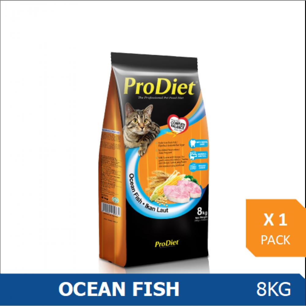 ProDiet 8KG  Ocean Fish Dry Cat Food