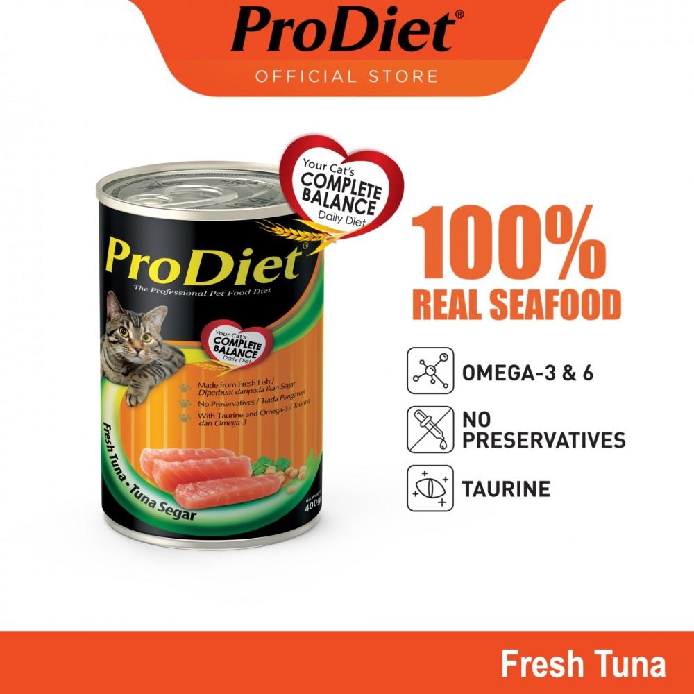 ProDiet 400G Fresh Tuna Wet Cat Food X 1 Can