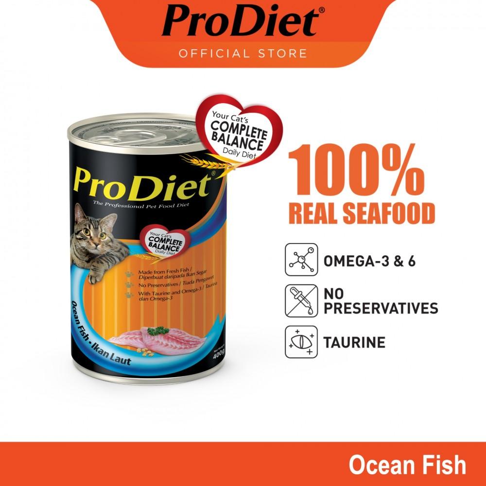 ProDiet 400G Ocean Fish Wet Cat Food X 1 Cans