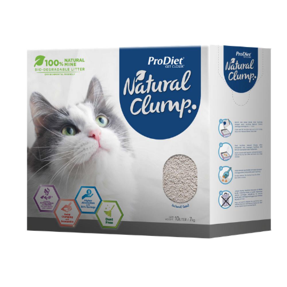 ProDiet 10L Natural Clump Cat Litter